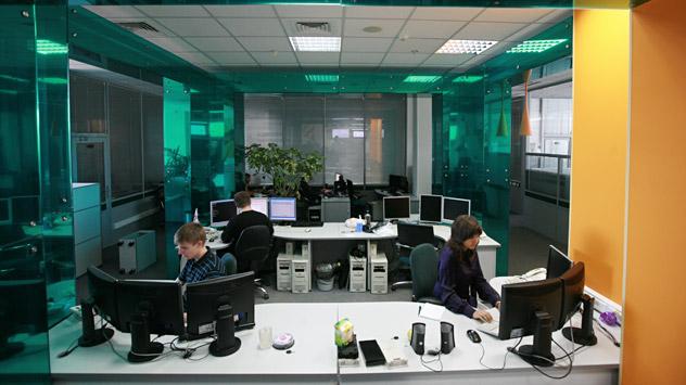 Kaspersky Lab. es una empresa de antivirus conocida en todo el mundo. Fuente: ITAR-TASS.