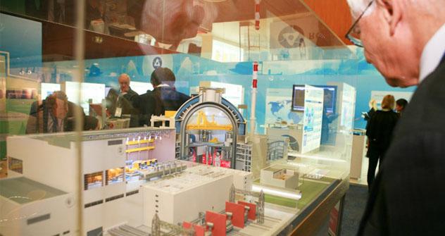 El fórum centroeuropeo de industria nuclear 'Atomex-Europa'. Fuente: Foto de prensa.