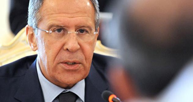 Serguéi Lavrov, ministro de Asuntos Exteriores de Rusia. Fuente: ITAR-TASS.