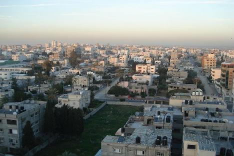 Ciudad de Gaza, por ahora la tregua se mantiene en pie. Fuente: flickr / aljazeera
