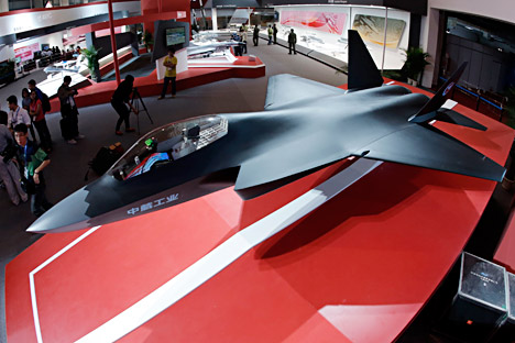 Según los datos que se conocen, el J-31 utiliza la tecnología 'stealth'. Fuente: AFP / EastNews