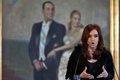 Cristina Fernández de Kirchner. Fuente: AP