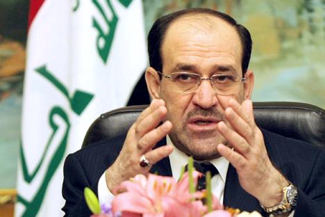 El jefe de gobierno iraquí, Nuri al-Maliki. Fuente: AP
