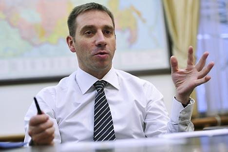 Entrevista a Serguéi Beliakov, viceministro de Desarrollo Económico. Fuente: Kommersant