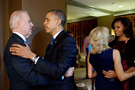 Vladímir Putin ha enviado un telegrama de felicitación y llamará al presidente de EE UU. Fuente: Pete Souza / Official White House