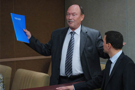 El viceministro ruso de Transporte, Serguéi Áristov. Fuente: RIA