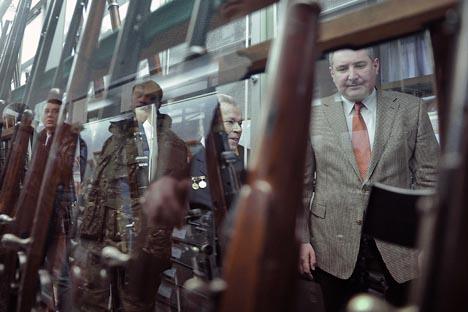 De ahora en adelante la fabricación de armas ligeras en Rusia se concentrará en unas solas manos. Fuente: RIA Novosti