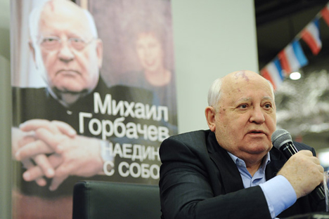 Acaba de salir a la luz un nuevo libro de Mijaíl Gorbachov. Fuente: Ramil Sitdikov / RIA
