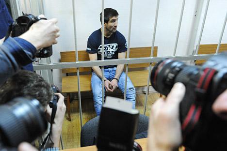 La puesta en libertad del caucásico Rasul Mirzayev, tras ser juzgado por la muerte del ruso Iván Agafonov, irrita a los ultranacionalistas. Fuente: ITAR-TASS
