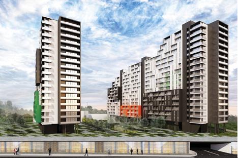Una empresa hispano-rusa diseña un proyecto con 1.100 viviendas, una escuela y dos guarderías en la ciudad de los Urales. Fuente: Avante Ingeniería