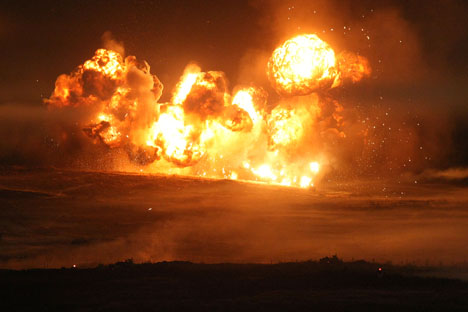 Indivíduos poderão pagar até US$ 150 se disponibilizarem guias para construção de bombas caseiras Foto: ITAR-TASS