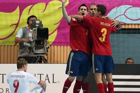 'La Roja' elimina a Rusia (3-2). Fuente: Fifa.com