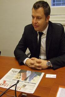 Ígor Petlyakov, vicepresidente de Softline. Fuente: Ana Nóvikova