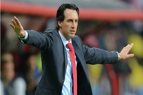 Emery fichó en mayo por el Spartak procedente del Valencia. Fuente: Alexander Vilf / RIA-Novosti