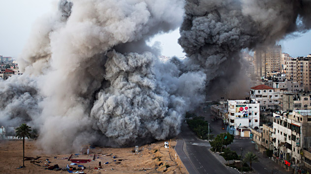 La crisis en Gaza y la situación en  Oriente Próximo. Fuente: AP