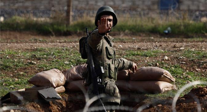 """""""Cualquier provocación puede servir de pretexto para un conflicto grave"""". Fuente: Reuters / Vostock-Photo"""
