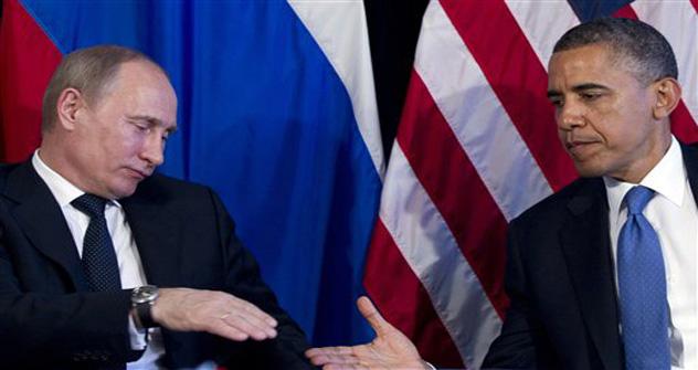Obama declaró que Putin tenía ya un pie en el pasado y debía comprender que la Guerra Fría había terminado. Estas declaraciones crearon un fondo negativo en las relaciones personales. Fuente: AP