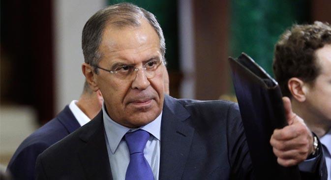 El ministro de Asuntos Exteriores ruso reiteró la postura de su país en relación al país árabe. Fuente: AP