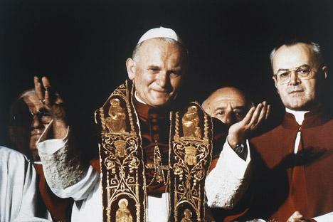 El Papa Juan Pablo II. Fuente: AP