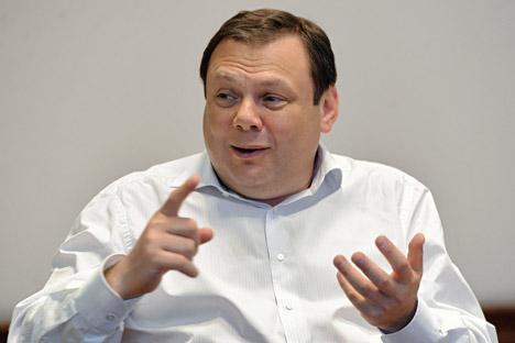 Mijaíl Fridman elegido empresario del año por Forbes. Fuente: Kommersant