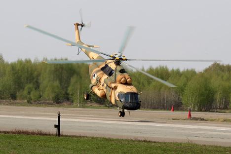 Helicóptero Mi-17B-5. Fuente: Maksim Bogodvid / RIA