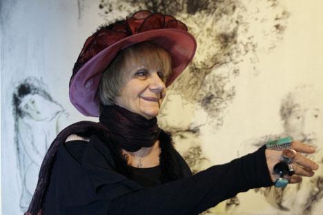 """La colección de cuentos de terror de Liudmila Petrushevskaya, """"Érase una vez una mujer que quería matar al bebé de su vecina"""", fue un bestseller según el New York Times. Fuente: RIA Novosti"""