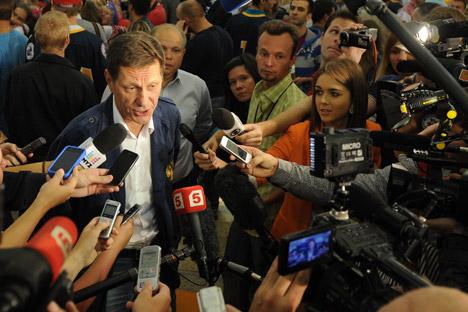 A finales de noviembre viajó a Santiago Alexánder Zhúkov, vicepresidente de la Duma Estatal. Fuente: ITAR-TASS