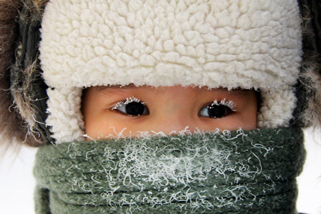 Temperatures the second weekend of December in Yakutia are well below -30° Celsius. Source: Reuters / Vostock Photo