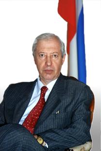 Mijaíl Orlovets, embajador de la Federación Rusa en Chile. Fuente: Embajada de Rusia en Chile