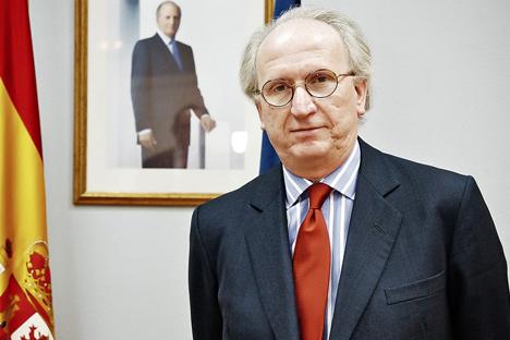 Entrevista a José Ignacio Carbajal Gárate, embajador de España en Moscú. Fuente: Ruslan Sujushin