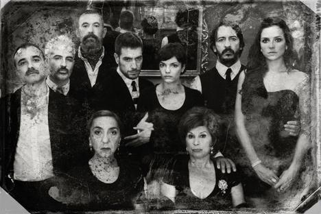 En un teatro de pequeño formato en el madrileño barrio de La Latina, 'Ivánov' lleva nueve meses en cartel. Fuente: La casa de la portera