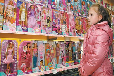 Rusia es ya el principal destino extracomunitario de las ventas de juguetes españoles. Las ventas se han multiplicado por diez en cuatro años. Fuente: ITAR-TASS