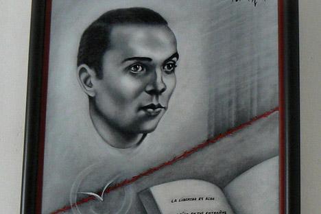 """El cuadro es de la casa museo """"Miguel Hernández"""". Fuente: Flickr / Maria.Piqui"""