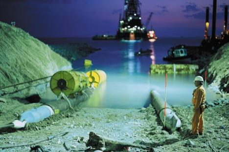 Comienza la construcción de un proyecto que pasará por los territorios de Italia, Grecia y Turquía, entre otros. Fuente: Foto de prensa