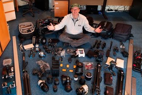 """Fotógrafo Geoff Tompkinson: """"El hyperlapse consiste básicamente en una técnica mediante la cual la cámara se mueve en el lugar mientras que transcurre el intervalo de tiempo"""". Fuente: Press Photo."""