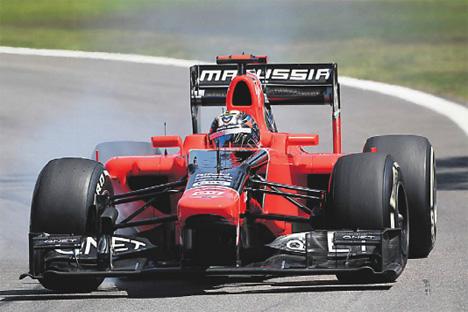 En noviembre de 2012 el primer equipo ruso de Fórmula 1, Marussia F1 Team, cumplió 3 años. Fuente: ITAR-TASS
