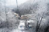station de ski en Russie