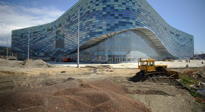 El jefe del Comité Olímpico de Rusia dio a conocer las nuevas infraestructuras de los Juegos de Invierno de 2014. Fuente: Mijaíl Mordásov