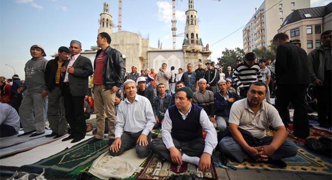 El ayuntamiento de la capital rusa dispuesto a ceder seis solares para los musulmanes, antes las quejas de los nacionalistas. Fuente: ITAR-TASS