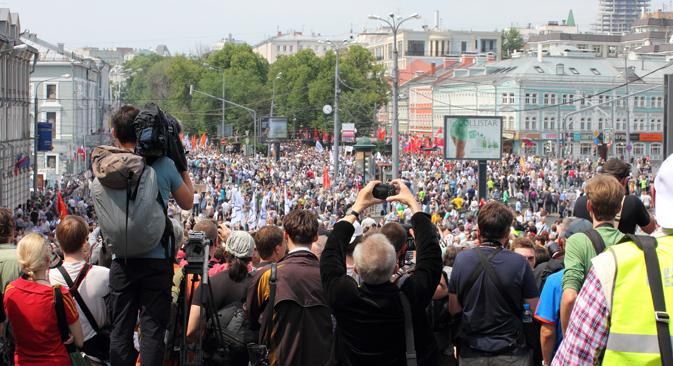 Análisis de los acontecimientos políticos más importantes en Rusia a lo largo el año 2012. Fuente: Flickr / Person Behind the Scenes