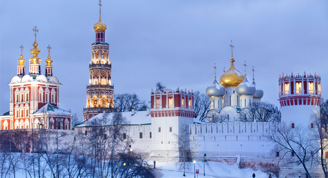 Monasterio Novodévichi en Moscú. Fuente: Nikolai Vinokurov / Photobank / Lori