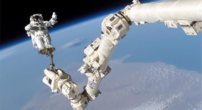 Se prepara una expedición de un año a la Estación Espacial Internacional que tiene como objetivo preparar a los astronautas a largas estancias en el espacio. Fuente: NASA