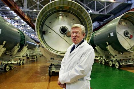 Anatolii Perminov,  director de Roskosmos. Fuente: ITAR-TASS