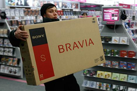 Los bancos rusos cada vez prestan más dinero, sobre todo para comprar cosas a corto plazo. Fuente: RIA Novosti