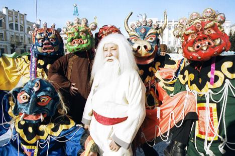 En Rusia hay numerosas y muy diferentes festividades para celebrar el inicio de un nuevo ciclo. Fuente: ITAR-TASS