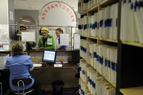 Cambian las condiciones de los contratos de trabajo con extranjeros. Fuente: ITAR-TASS