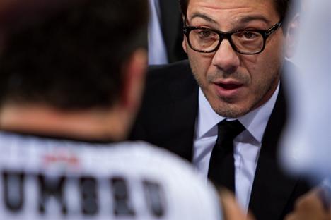 Fotis Katsikaris, nuevo seleccionador de baloncesto ruso. Fuente: Bilbaobasket.biz