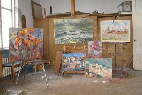 Adentro de la casa de Olga Brendel. Fuente: kiaraz.org.