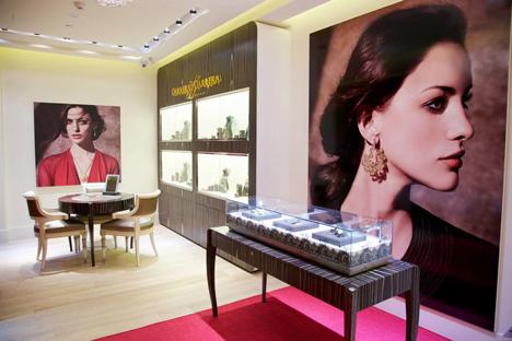 'Carrera y Carrera', prestigiosa casa de joyas, fue adquirida hace dos años por unos inversores rusos desconocidos. Fuente: Foto de prensa