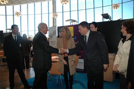 Grandes expectativas se centran en la primera edición del Costa Blanca Russian Meeting Point que se celebra en Torrevieja. Fuente: Francisco Reyes